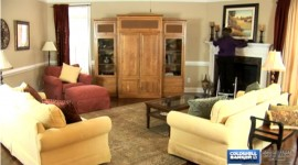 Coldwell Banker HPW: Living Room Staging